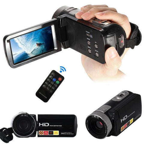 Visiocology : Gadget ~ 24MP LCD Touch Screen Digital Video Camera Camcorder DV 1080P Full HD H2X3