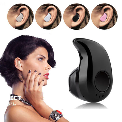 Visiocology : Bluetooth Earphone Mini Wireless in Ear Earphone Wireless Hands-free Headset Blutooth Stereo Auriculares Headset Phone