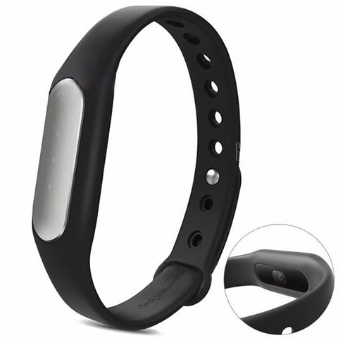 Visiocology : Original Xiaomi Light Sensitive Version Miband 1S Heart Rate Monitor Bluetooth Smart Bracelet Wristband