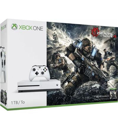 Microsoft Xbox 234-00068 Xbox One S 1TB GOW 4 Gear of War 4 Physical Disk