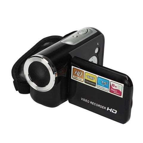 Visiocology : Portable 1.5 Inch TFT 16MP 8X Digital Zoom Video Camcorder Camera DV Cam Electronics