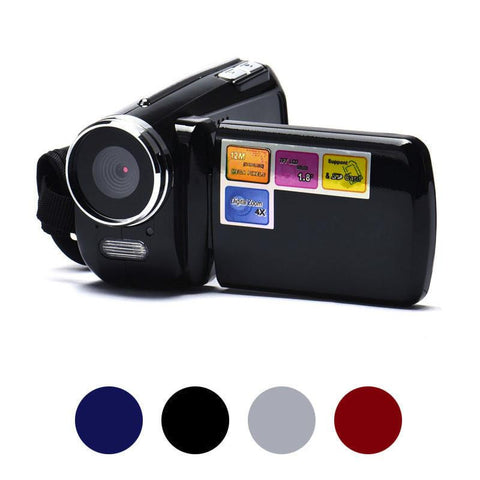 Visiocology : Portable 1.8 Inch TFT 4X Digital Zoom Mini 32G Video Camera Camcorder DV Cam