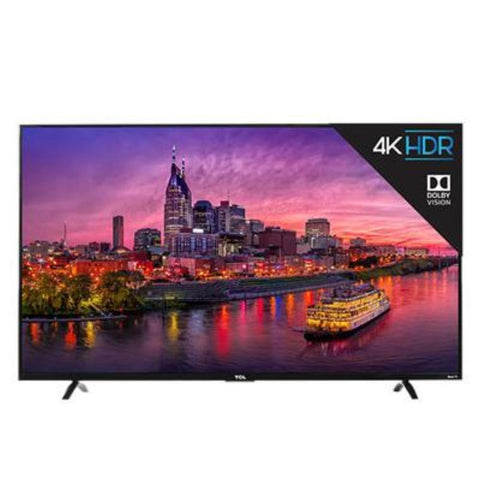 "Visiocology : TCL Home 55"" 4K  UHDR LED TV Dolby Vision 4K Home Television Entertainment Gadgets"