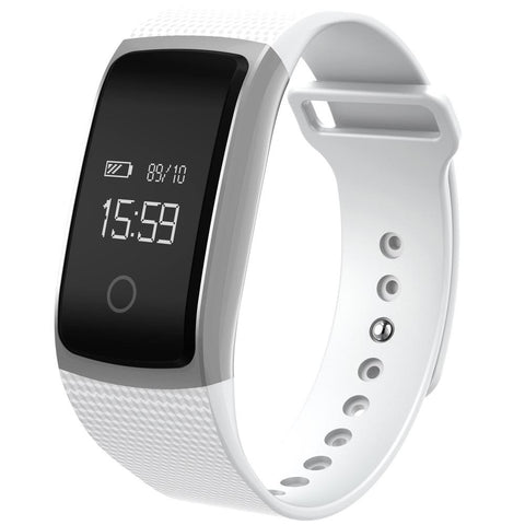 A09 Bluetooth NFC Wireless HD OLED Heart Rate Smart Watch Wristband For Android IOS Phone - Visiocology