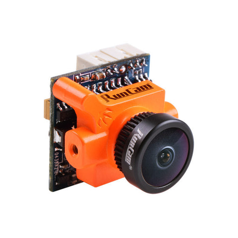 Visiocology : RunCam Micro Swift 600TVL 2.1mm/2.3mm IR Blocked 1/3 CCD FPV Camera PAL/NTSC 5.6g