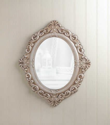 Accent Plus Decorative Vintage Estate Wall Mirror-Visiocology