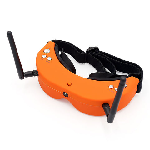 Skyzone SKY01S Upgraded 5.8G 48CH FPV Goggles Auto Search Video Headset With Front Camera - Visiocology