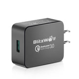 BlitzWolf® BW-S5 QC3.0 18W [Qualcomm Certified] USB Charger US Adapter with Power3S Tech - Visiocology
