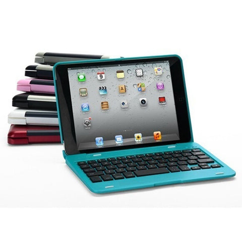 Bluetooth 2 In 1 Keyboard Foldable Kickstand Case For iPad Mini 1 2 3-Visiocology