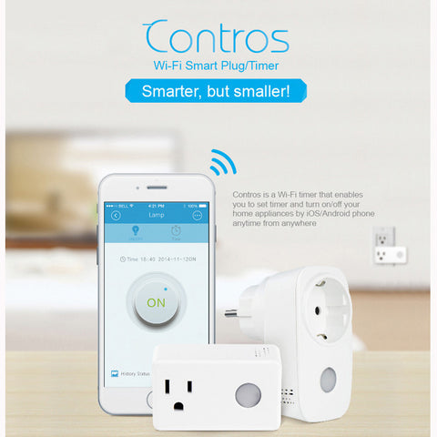BroadLink SP3 SPcc Contros Mini WiFi Smart Home Socket Timing Switch Plug Timer Wireless Remote Controller-Visiocology