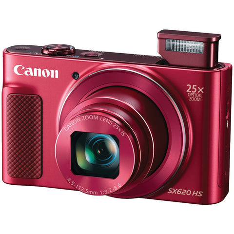 Visiocology : Canon CND1073C001 Red 20.2 Megapixel Powershot Sx620 Hs Digital Camera