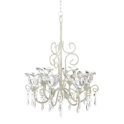 Crystal Blooms Candle Chandelier - Visiocology
