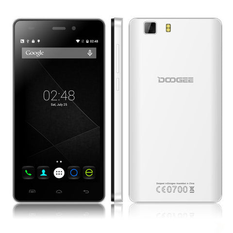 Visiocology : DOOGEE X5 5-inch Android 5.1 MTK6580 Quad-core Unlocked Smartphone