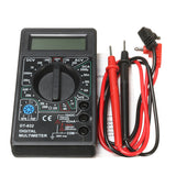 DT832 Digital LCD Multimeter Ohm Voltage Ampere Meter Buzzer Function with Test Probe - Visiocology