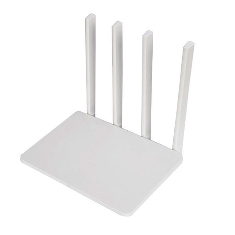 Visiocology : Original Xiaomi Mi (English Version) WiFi 3 Router EU Plug Smart 4 Antennas 1167Mbps Dual Band
