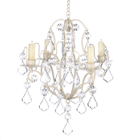 Gallery of Light 10014947 Modern Elegant Crystals 4 Candle Holders Chandelier Home Decor-Visiocology