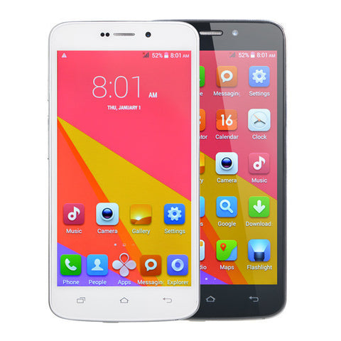 "GOWIN A70 5"" 512MB RAM MTK6572 1.3GHz 4GB Android 4.4 Dual core Unlocked Dual Sim Smartphone"