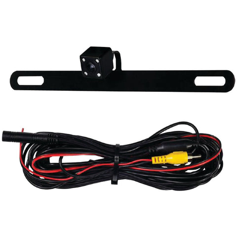 Ibeam MECTEBPCIR Behind Car License Plate Camera With Ir Leds Parking Assist-Visiocology
