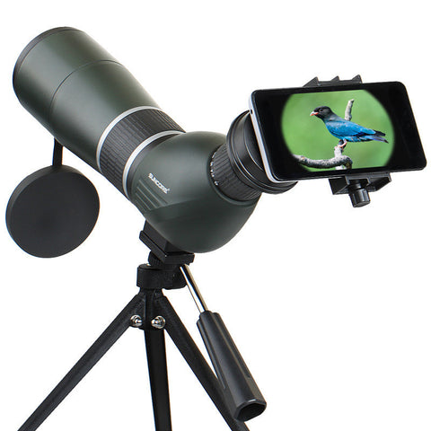 IPRee 12-36X50A/15-45X60A HD Optic Zoom Monocular Bird Watching Telescope Lens View Eyepiece - Visiocology