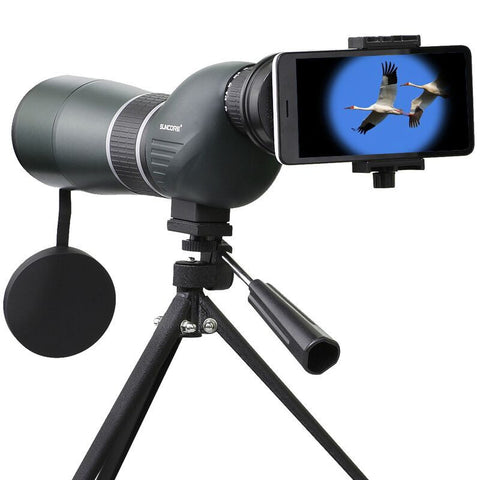 IPRee 12-36x50S Monocular Telescope HD Optic Zoom Lens Bird Watching High Definition View Eyepiece - Visiocology