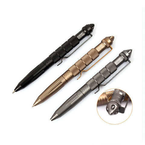 IPRee™ Outdoor Tactical Pen Self-Defense Safe Security Tool Aluminum Alloy Outdoor Camping Survival Emergency - Visiocology