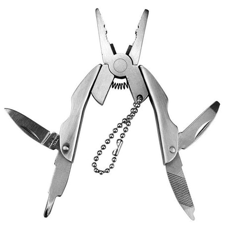 IPRee Portable Multifunction Folding Pliers Mini Tool Keychain EDC Outdoor Survival Kits - Visiocology