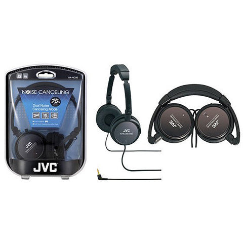 JVC NOISE CANCELLING HEAD PHONES-Visiocology