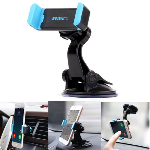 MEIDI Car Multifunction Phone Holder Air Vent Windshield Holder Stand Adjustable Support 6.0 inch-Visiocology