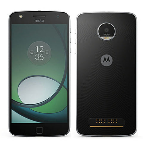 Moto Z Play 5.5 inch 3GB RAM 64GB ROM Snapdragon 625 2.0GHz Unlocked Octa core 4G Smartphone-Visiocology