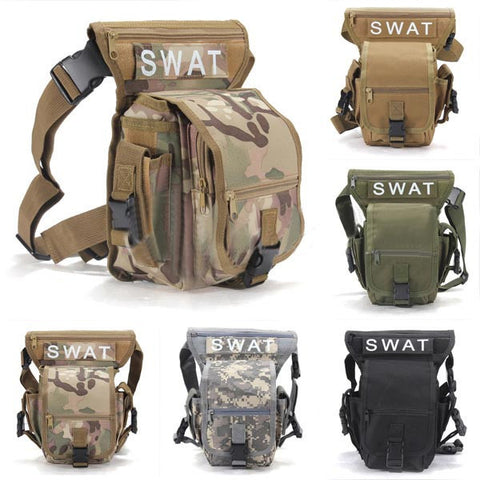 Visiocology : Multifunction Outdoor Leg Bag Utility Thigh Fanny Waist Pack Pouch For Camping Hunting