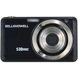 My New Bell+howell 15.0 Megapixel S30hdz Great Slim Digital Camera With 5x Optical Zoom (black) - Visiocology