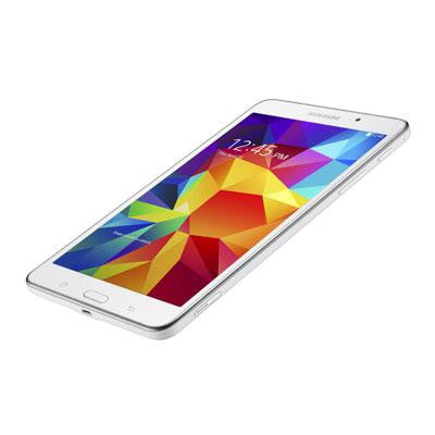 "New 7"" Galaxy Tab 4 8GB White SMT230NZWAXAR-Visiocology"