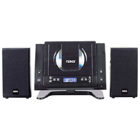NEWEST NAXA CD PLAYER Micro System BLUETOOTH Mini Compact Wall Shelf Home Stereo-Visiocology