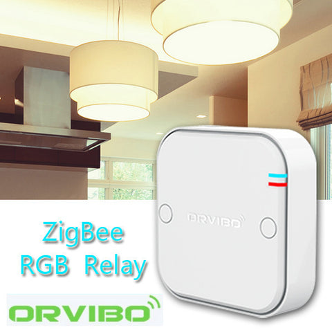 ORVIBO RL804CZB ZigBee Hub Smart Home System Lighting Intelligent Control RGB Remote Control Relay-Visiocology