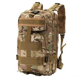 IPRee Outdoor 30L Military Tactical Camo Backpack Rucksack Camping Hiking Trekking Shoulder Bag Pack - Visiocology