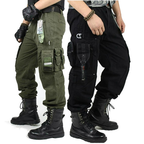 Outdoor Military Tactical Cargo Pants Multi Pockets Mountaineering Long Trousers-Visiocology