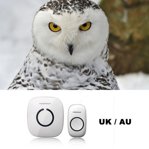 Smart Forrinx Digital UK AU AC 220-240V Wireless Remote Control Home Office Doorbell-Visiocology
