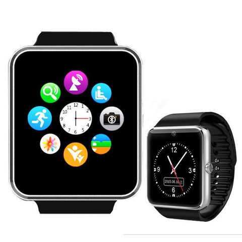 Sport GT08 Digital Bluetooth Smart Wrist Watch Sync Notifier With SIM Card for Android For Female & Male-Visiocology