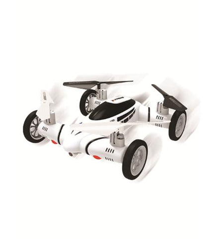 Fly and Drive Quadcopter WHITE - Visiocology