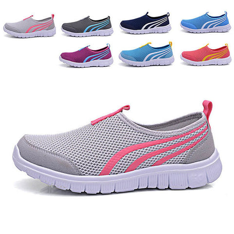 Unisex Sport Running Shoes Casual Outdoor Breathable Comfortable Mesh Athletic Shoes-Visiocology