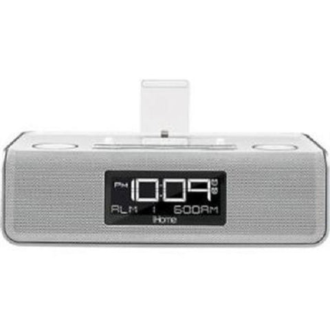 Visiocology : iHome Dual Charge Stereo FM Clock Radio with lightning Dock and Play For iPad iPhone iPod-Visiocology