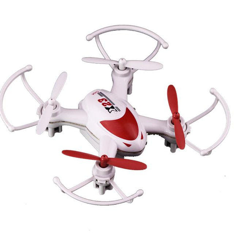 Visiocology : Mini SY X23 RC 6 Axis Gyro Quadcopter LED 4ch Headless Nano Drone - Visiocology