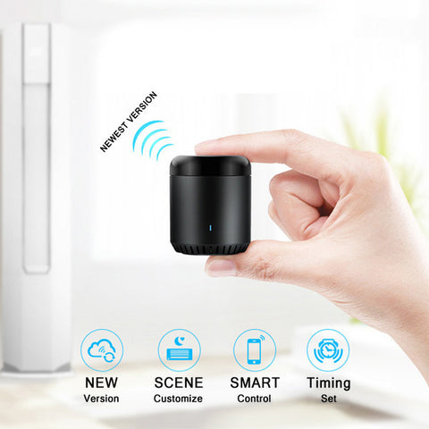 Visiocology.com : NEW Upgrade Version Broadlink RM Mini 3 Black Bean Smart Home Wifi Universal IR Smart Remote Controller-Visiocology
