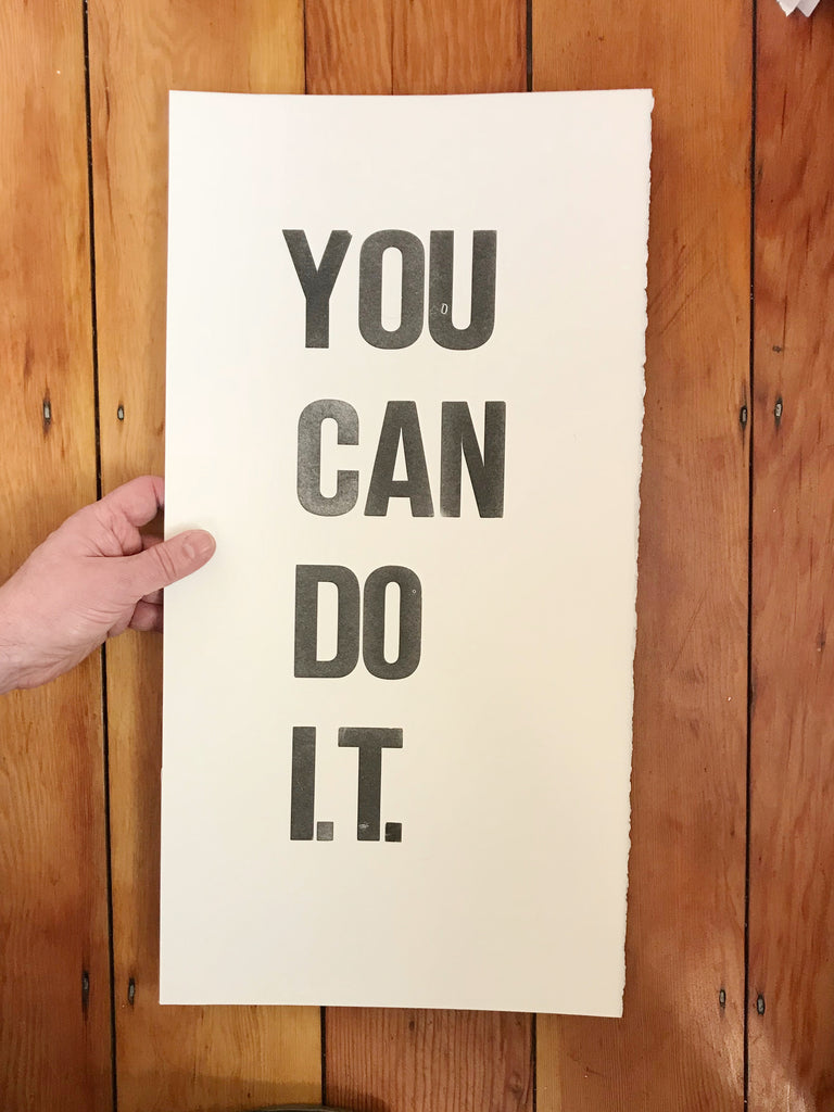 You can do I.T.