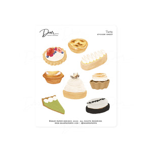 Tarts Sticker Sheet