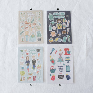 Cut Your Own Washi Sticker Sheets