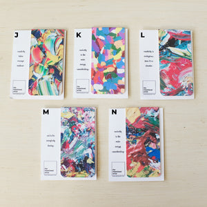 Abstract Magnetic Bookmarks