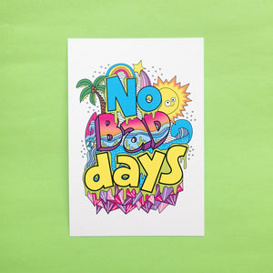 Happy Days Postcard
