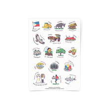 Load image into Gallery viewer, Philippine Symbols Sticker Sheets
