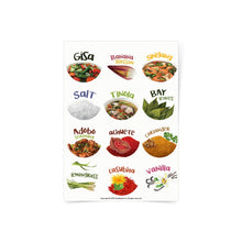 Load image into Gallery viewer, Philippine Spices Sticker Sheet